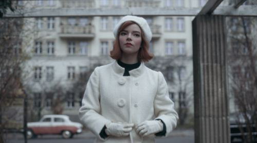 netflixクイーンズギャンビットの白の衣装